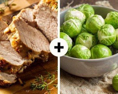 20 thực phẩm 'sinh ra để dành cho nhau'