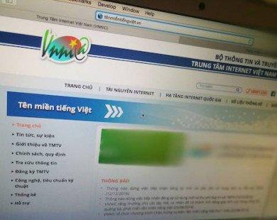 """""""Mở cửa"""" cho các nhà đăng ký cùng cung cấp tên miền tiếng Việt"""