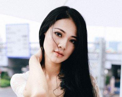 Hoa hậu Thể thao Trần Thị Quỳnh gợi cảm với váy hai dây