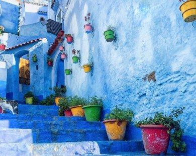 Chefchaouen, hòn ngọc xanh của Morocco