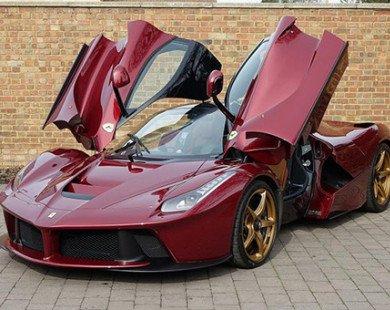 Ngắm siêu xe LaFerrari đỏ đặc biệt giá 77 tỷ đồng