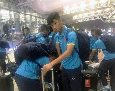 ĐT U20 Việt Nam trải qua cuộc hành trình vất vả đến Đức