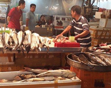 Hải sản ngoại ồ ạt vào chợ, siêu thị