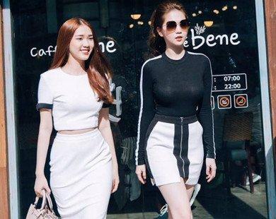 Xu hướng thời trang hè cho giới trẻ qua street style của sao Việt