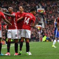 Chelsea hoàn toàn bị khuất phục tại Old Trafford