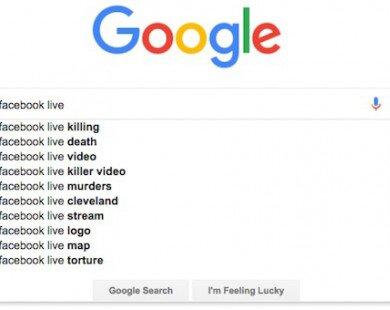 """""""Giật mình"""" với xu hướng tìm kiếm Facebook Live trên Google"""