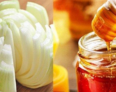 Hành tây, mật ong thần dược cho lông mày