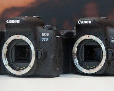 Canon giới thiệu bộ 3 máy ảnh mới: EOS 800D, 77D, M6