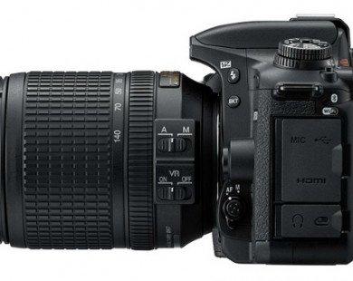 Máy ảnh D7500 DSLR DX Format mới của Nikon