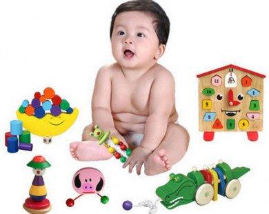 Bố mẹ không nên mua nhiều đồ chơi cho con