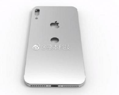 iPhone 8 sở hữu camera kép thẳng và Touch ID ở mặt sau
