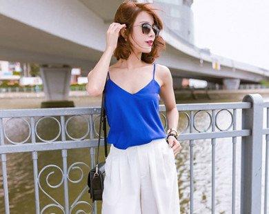 Trang phục giúp bạn khoe làn da trắng mịn ngày hè