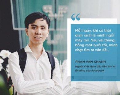 Người Việt Nam đầu tiên tìm ra lỗ hổng của Facebook