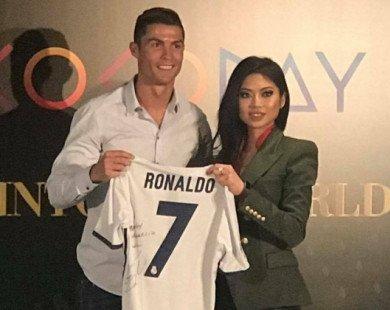 Cristiano Ronaldo có thể tới Việt Nam vào năm sau