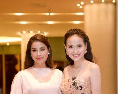Mặc lại váy của Phạm Hương, liệu học trò có vượt mặt nổi?