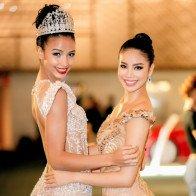 Hoa hậu Pháp tới Việt Nam diễn show Hoàng Hải