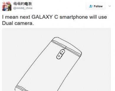 Samsung Galaxy C sẽ được trang bị camera kép?