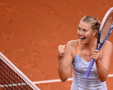 """Madrid Open: Nơi Sharapova sẽ xóa sạch """"lời ong tiếng ve"""""""