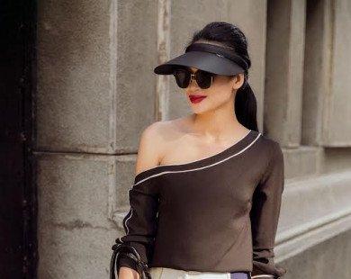 Áo váy giá rẻ vẫn nổi bật của quý cô mặc đẹp nức tiếng Sài Gòn