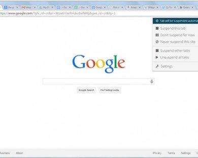 Mẹo giúp Google Chrome tiết kiệm pin hơn
