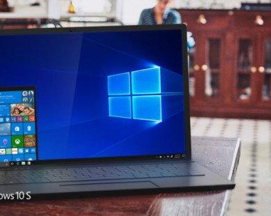 Hệ điều hành Windows 10 S cấm trình duyệt Google Chrome