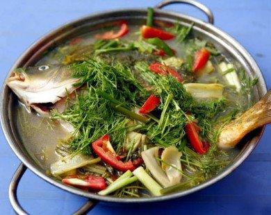 Cách làm món canh cá nấu dưa thơm ngon ngày hè