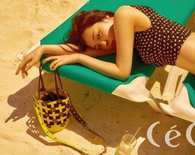 Kiều nữ tai tiếng của Kpop Sulli xinh đẹp trên tạp chí