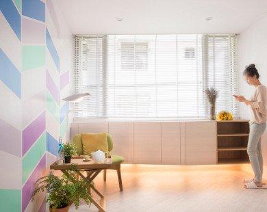 Cải tạo căn hộ 14m² cũ kỹ thành không gian sống lý tưởng