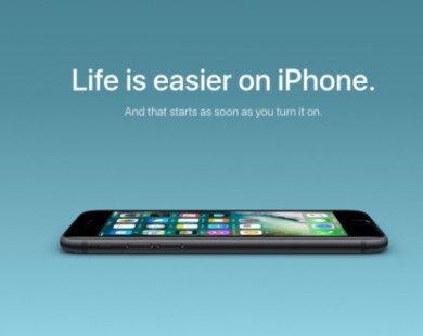 Apple ra đòn tấn công trực diện Android