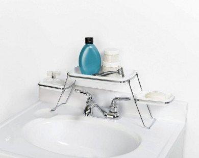 Bí quyết lưu trữ đồ cực hay cho phòng tắm nhỏ hẹp