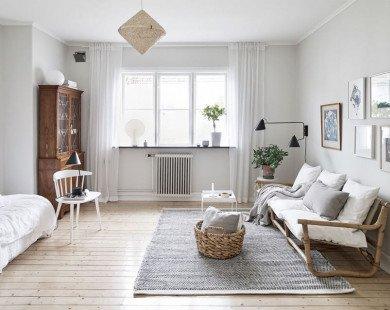 Vẻ đẹp lãng mạn của căn hộ 30m² phong cách Vintage