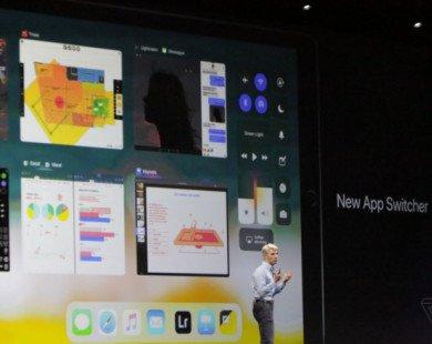 Apple ra mắt iOS 11 với hàng loạt nâng cấp