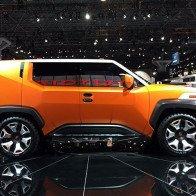 Toyota có thể tung mẫu crossover cỡ nhỏ TJ Cruiser