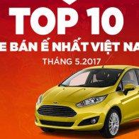 10 mẫu xe hơi ế nhất Việt Nam trong tháng 5