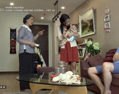 """""""Sống chung với mẹ chồng"""" tập 28: Đời Vân vừa êm, đời Trang lại """"nổi bão"""""""
