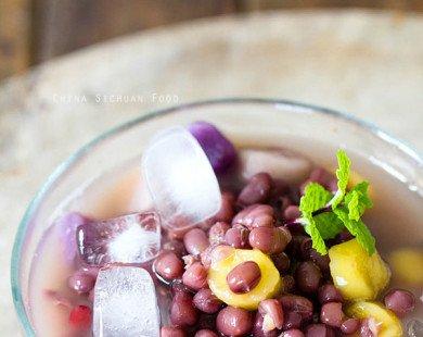 Cách nấu chè đậu đỏ khoai môn ngọt thanh, mềm dẻo