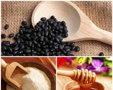 3 loại mặt nạ giúp trị mụn, da thêm trắng từ đậu đen