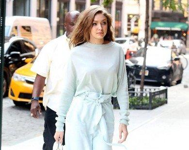 Gigi Hadid là sao mặc đẹp nhất tuần với sắc xanh hè tươi mát