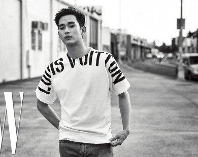 Kim Soo Hyun nam tính, cuốn hút trong bộ ảnh tạp chí mới