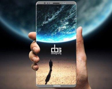 Galaxy Note 8 có thể lỡ hẹn với máy quét vân tay ẩn dưới màn hình