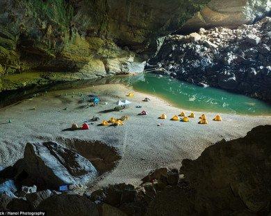 Hang Sơn Đoòng lọt top địa điểm cắm trại lý tưởng nhất thế giới