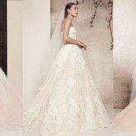5 bộ sưu tập cưới đẹp nhất Tuần lễ thời trang cưới Xuân 2018
