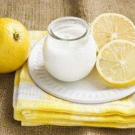 Sữa chua hương chanh ngọt thanh, mát lạnh càng ăn càng nghiền