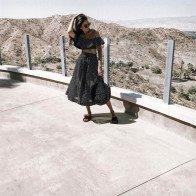 Họa tiết chấm bi được lòng các tín đồ thời trang mùa hè