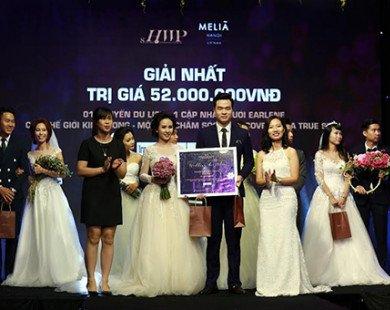 Tìm kiếm cặp đôi đẹp nhất mùa cưới 2017 với tổng giải thưởng 300 triệu đồng