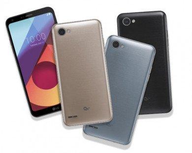 LG Q6 ra mắt với 3 phiên bản, màn hình tràn viền