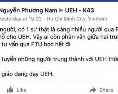 Phát ngôn bừa bãi, giảng viên ĐH Kinh tế TP.HCM bị 'tuýt còi'