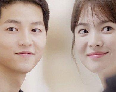 Cặp đôi trời sinh Song Joong Ki, Song Hye Kyo cho thấy tướng phu thê hiển hiện trên khuôn mặt mặt