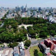 6 công trình được xây dựng trên khu đất nghĩa trang tại Sài Gòn