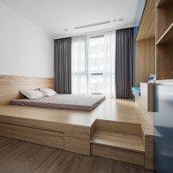 Cải tạo căn hộ 100m2 theo phong cách Nhật